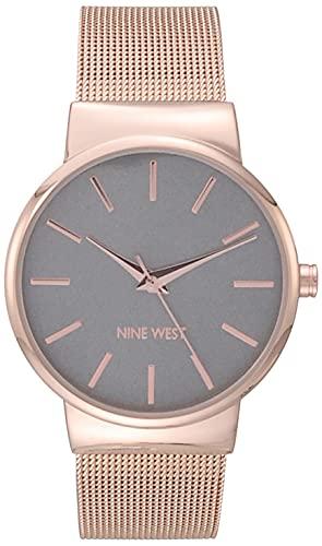 Nine West Dress Watch (Model: NW/2476GYRG)