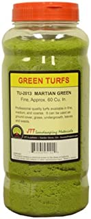JTT Scenery Products Green Turf, Martian Green, Fine