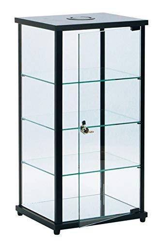 SSWBasics Lighted Glass Countertop Display Case - 27  H x 12  D x 14  L