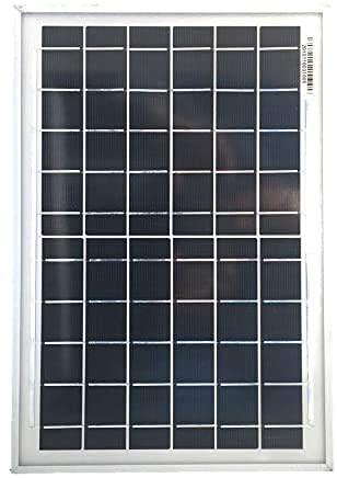 Panneau solaire 10 W 6 V – Module solaire sans câble solaire, cellules solaires monocristallines.