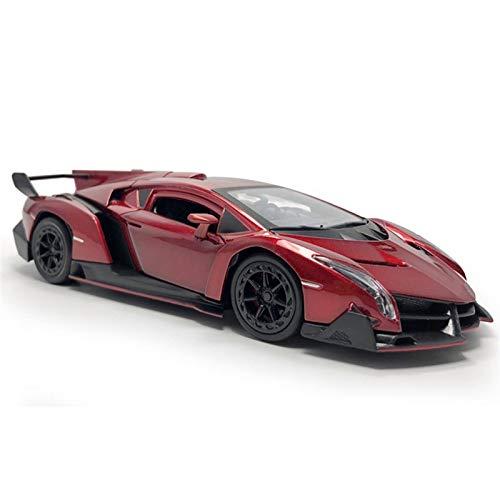 LXLN Se Utiliza para Veneno Supercar Modelo Coche Aleación Metal Modelo Coche Fundido A Presión Juguete para Niños Regalo Cumpleaños Regalo Navidad Decoración para Adultos