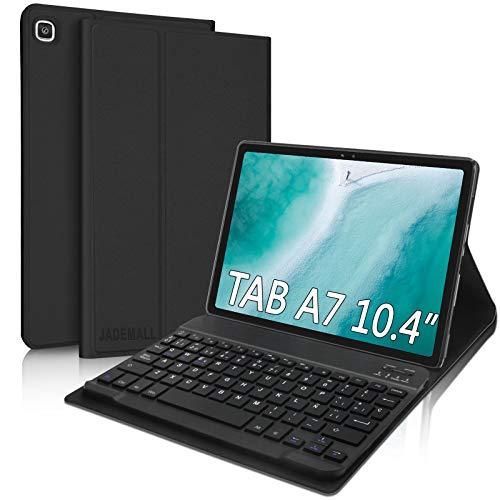 Funda Teclado Español Ñ para Samsung Galaxy Tab A7 10.4' 2020,JADEMALL Bluetooth Teclado Inalámbrico Desmontable...