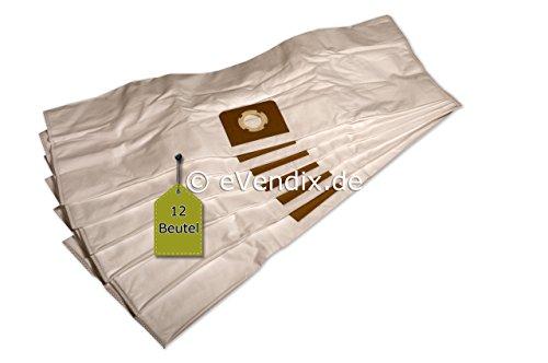 Stofzuigerzakken geschikt voor ShopVac pomp Vac 30, 12 stofzakken, compatibel met Swirl UNI30net