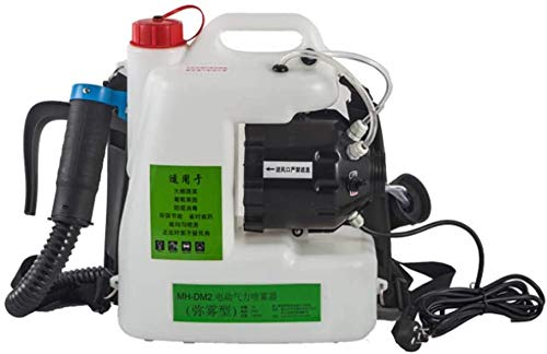 LLP LM 1400W eléctrico portátil ULV pulverizador portátil Mochila Fogger máquina pulverizadora,...
