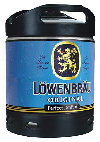 Löwenbräu Perfect Draft 1 x 6 l inc. 5.00€ MEHRWEG Pfand Fass