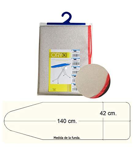 ORYX 5160015 tas tafel gemetalliseerd strijkijzer schuim. 140 x 42 cm.