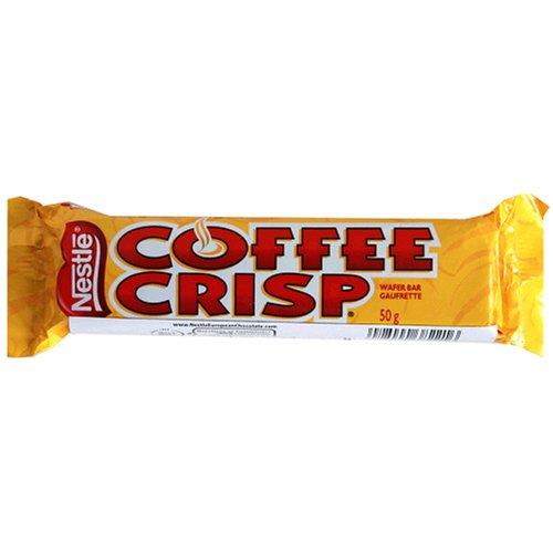 Nestle Coffee Crisp Bar, 1.76-Ounce Bars (Pack of 48)