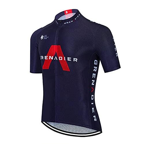 Maglie da Ciclismo Estivi Abbigliamento Ciclismo UCI Team Maglia Ciclismo Squadre PRO