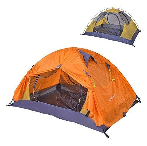 RYP Guo Outdoor Products extérieur pour 2 Personnes Utilisez Tentes, Camping Mesh Ventilation Respirant Anti-moustiques, Tissu Polyester imperméable crème Solaire imperméable, Tente Portable,2 Person