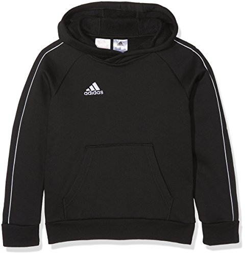 adidas Kinder CORE18 HOODY Y Sweatshirt black/White 164