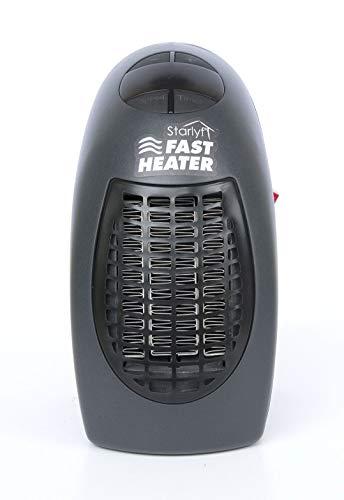 BEST DIRECT Fast Heater Original Come Visto in TV Riscaldamento Stufa Elettrica per Interni Condizionatore Portatile Ventilatore ad Aria Calda Dimensione Mini per i Viaggi Ufficio Casa