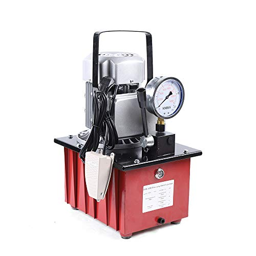 RANZIX 750W Elektrohydraulikpumpe Mit Manuelle Pedal Acting Hydraulikaggregat 2-70Mpa Elektrische Jack Split Hydraulikpumpe Hydraulikmotor Pumpe