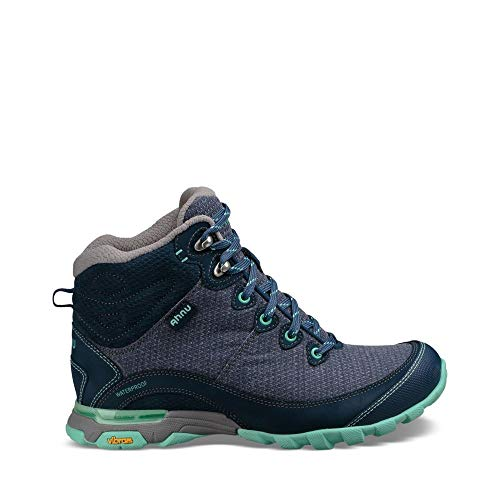 Ahnu Women's W Sugarpine II Waterproof Hiking Boot, Insignia Blue, 7.5 Medium US