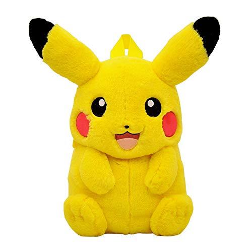 LHAHGLY Pikachus - Mochila de peluche con diseño de anime para niños
