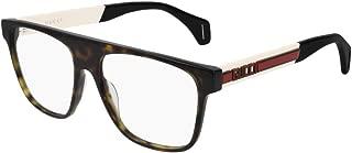 Eyeglasses Gucci GG 0465 O- 003 HAVANA/IVORY