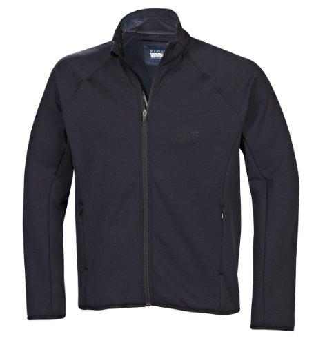 Marinepool Herren Jacke B3 Midlayer Fleece Jacket Men, Black, XS, 5000474-800-160
