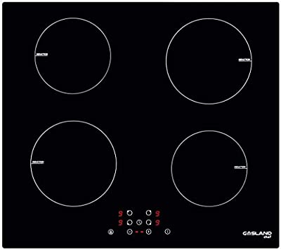 """24"""" Built-in Induction Cooktop, GASLAND Chef IH60BF 240V Electric Induction Hob, Drop-in 4 Burner Induction Stovetop, 9 Power Levels, Sensor Touch Control, Child Safety Lock, 1-99 Minutes Timer"""