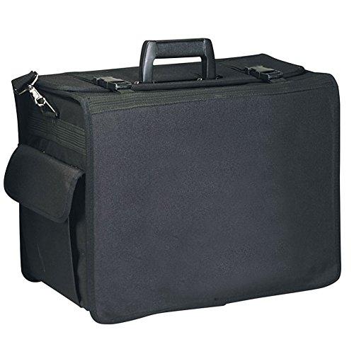 Black Daily Used Sample Case Organizer