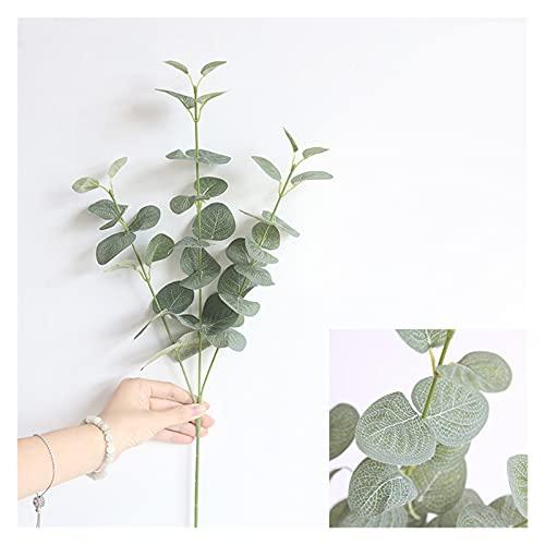 WANGJBH Dried Flowers Feuilles d'eucalyptus artificielles en Soie, Fausse Plante, pour décoration de Maison, pour Un Mariage, pour décorer Une Salle Potpourri (Couleur : Green)