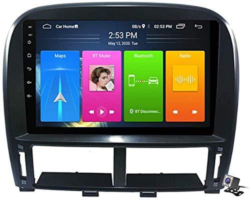 FDGBCF Android 10 Radio de navegación GPS para automóvil para Lexus LS430 GSP 1999-2006 con Pantalla táctil de 9 Pulgadas Soporte FM Am RDS DSP/MP5 Player/BT Control del Volante/Carplay