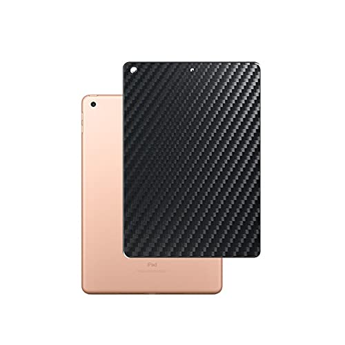 Vaxson 2 Unidades Protector de pantalla Posterior, compatible con (2018/2017 )iPad Pro 9.7 / Air2 / Air/New iPad 9.7' 2, Película Protectora Skin Piel Negro [No Carcasa Case ]