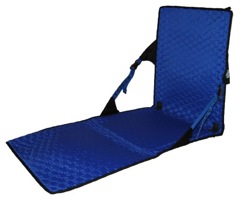 Crazy Creek Hex 2.0 Chaise Longue Noir/Bleu Roi