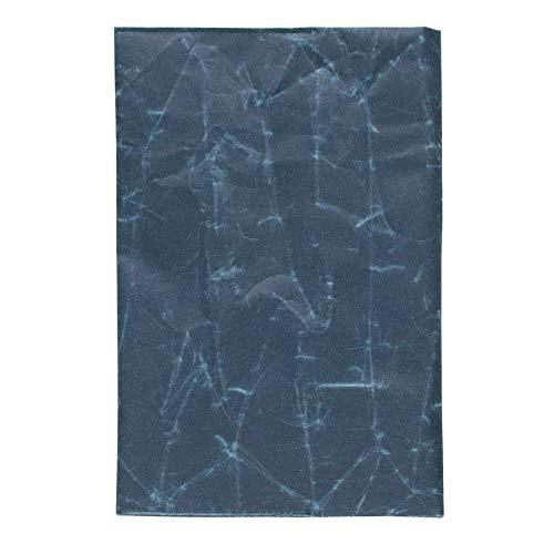 [シワ]ブックカバー A5サイズ SIWA|紙和 (ダークブルー)