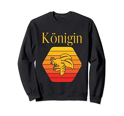 Bienen-Königin Design für Imker und Honig Fans Sweatshirt
