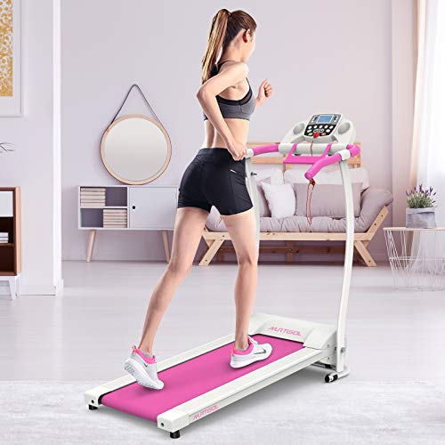 Murtisol Folding Electric Treadmill with LCD Display