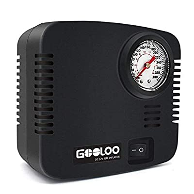 GOOLOO DC 12V Portable Air Compressor
