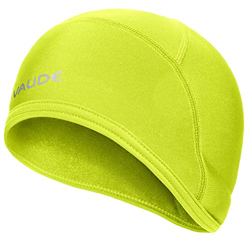 VAUDE Unisex Accessories Bike Warm Cap, bright green, L, 03278
