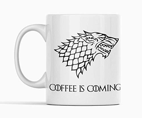 Desconocido Taza de cerámica Coffee is Coming. Stark