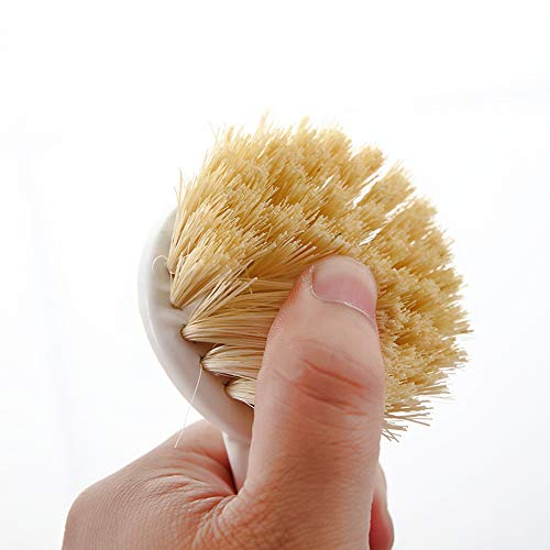 Kitchen Dish Brush with Comfort and Slip-resistance Handle for Pans Pots Kitchen Sink Cleaning (2 Colors)