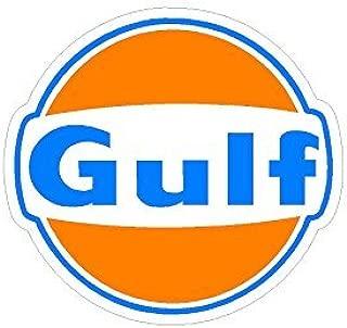 Gulf Gas Station Vintage Drag Racing sticker decal