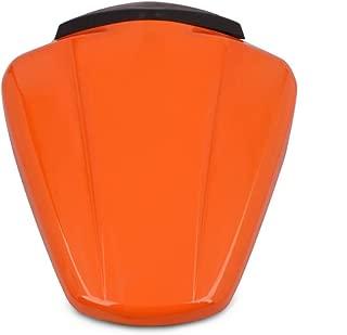 AnXin Motorcycle Orange Rear Seat Cowl Passenger Pillion Fairing Tail Cover For KTM 125 Duke 2011-2015,200 390 Duke 2012-2015