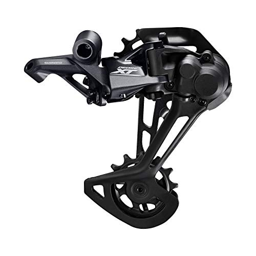 in budget affordable Deore XT RD-M8100 SGS rear derailleur, 12 speed, black / gray