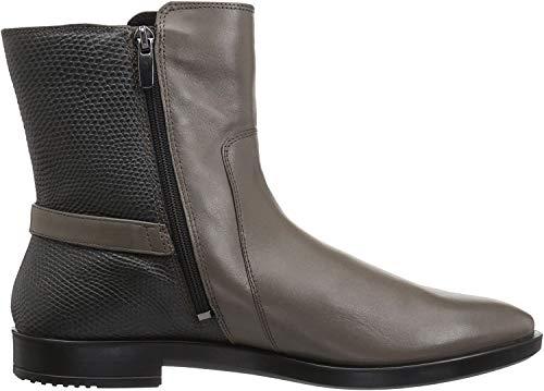 ECCO Women's Shape M 15 Ankle Bootie, Stone/Dark Shadow, 41 EU / 10-10.5 US