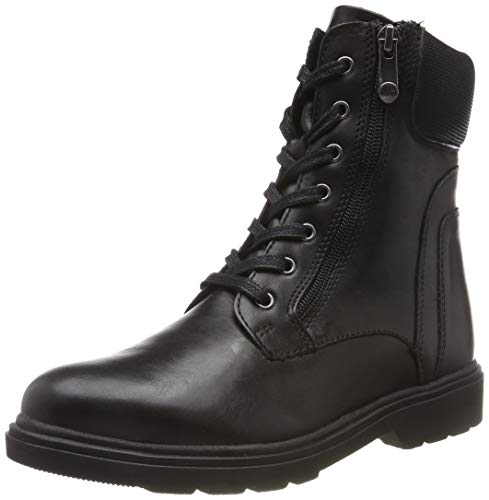 MARCO TOZZI Damen 2-2-25701-23 Biker Boots, Schwarz (Black Comb 098), 40 EU