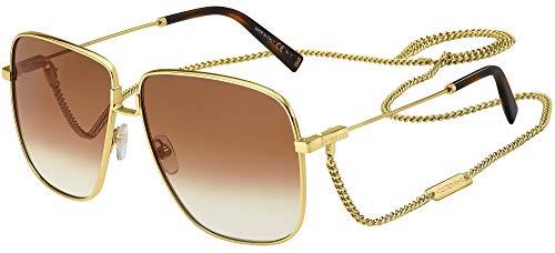 Givenchy Gafas de Sol GV 7183/S Gold/Brown Shaded 63/12/145 mujer