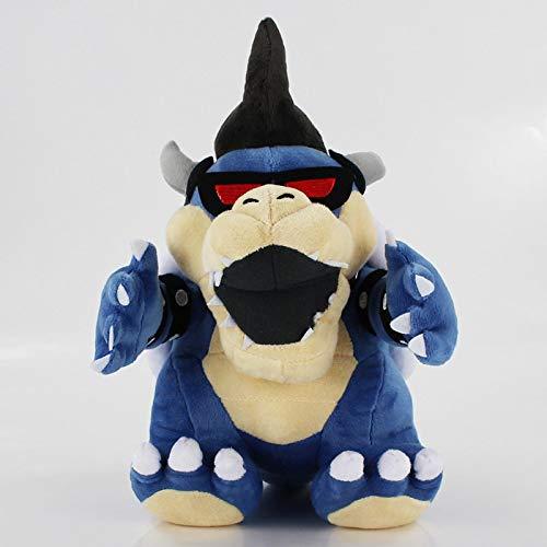 JMUNG Super Mario Land Bone Kuba Dragon Dark Bowser Peluche 29Cm, Reforzar Peluche Suave Muecos De Peluche Huesos Secos Bowser Koopa