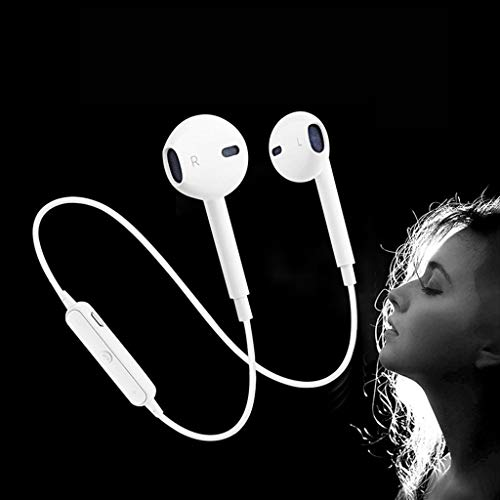 CHG S6 Bluetooth Earphones for Lava Spark One Earphone in-Ear Headphones Headset with c, Earbuds, Extra Bass, Sports, Neck-Band, Sweatproof Jogger