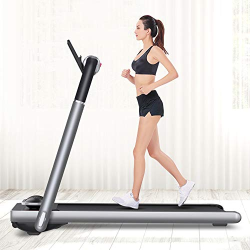 3.5HP Motor Opvouwbare Gemotoriseerde Loopbanden Gym Huishoudelijke Draagbare Kleine Ultrastille Fitnessapparatuur Multifunctionele Intelligente Running Jogging Walking Machine (Audio-Versie)