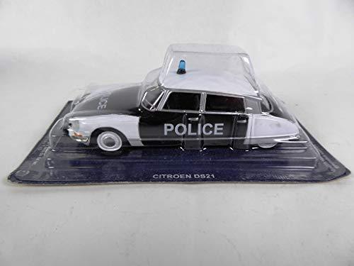 OPO 10 - Citroen DS 21 1/43 World Police Car Collection - EN (PM37)