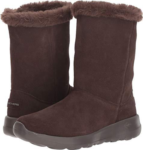 Skechers New Women's On The Go Joy Winter Snow Boot Chocolate 7