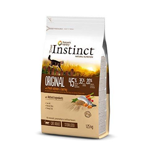 True Instinct Original - Nature's Variety - Pienso para Gato Esterilizado Adulto con Salmón - 1,25kg ✅