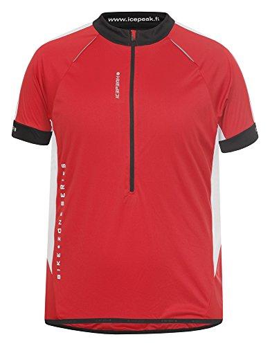 ICEPEAK Maglietta da Uomo, Modello Frisco, Uomo, T-Shirt Frisco, Coral-Red, L