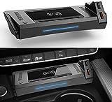 WY-CAR Cargador Inalámbrico Automóvil para Audi A4 2019-2021 A5 2020 2021 S4 S5 2021 RS4 RS5 2019 2021, 15W Cargador Inalámbrico Rápido, para iPhone Samsung