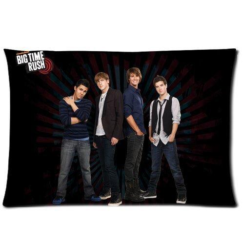 """Axige888 - Federa rettangolare per cuscino con motivo """"Big Time Rush"""", 35 x 50 cm"""