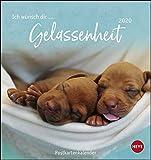 Ich wünsch dir … Gelassenheit Postkartenkalender. Postkartenkalender 2020. Monatskalendarium. Spiralbindung. Format 16 x 17 cm
