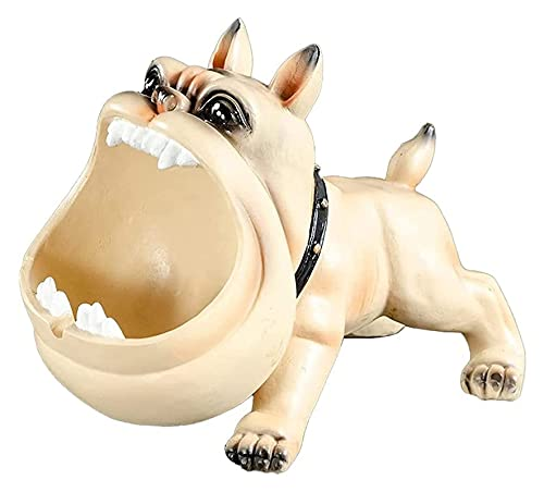 Ceniceros para cigarrillos lindo dibujos animados perros ceniza bandeja creativo coche a prueba de viento a prueba de viento contenedor cenicero creativo historieta cenicero ashtray hogar salón mueble